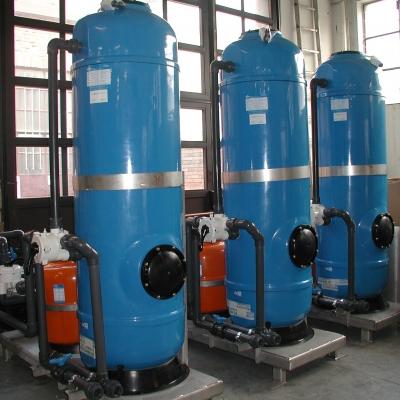 Impianti filtrazione finale acque di scarico