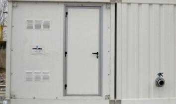Impianti di trattamento per acque reflue in container - tecnologia MBR