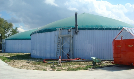 BIOGAS PLANT FOR ENERGY PRODUCTION