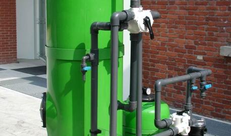 CLIENTE: FACCHETTI Impianto di filtrazione su sabbia e carbone attivo, di acque provenienti dal dilavamento di piazzali