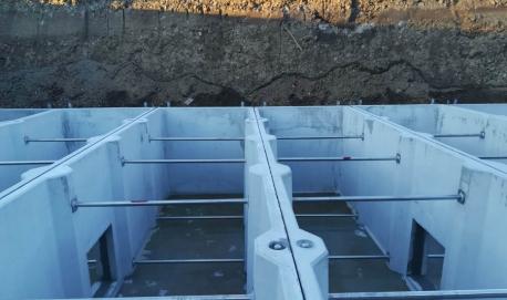 Installazione di bacini di laminazione per acque meteoriche