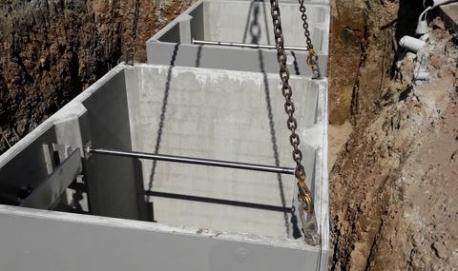 Installazione di un impianto di trattamento delle acque reflue