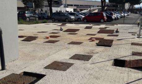 Impianto di depurazione ad ossidazione totale per 500 ae Impianto realizzato per l'Ospedale civile di Grosseto