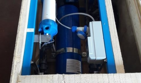 Installazione di un impianto di trattamento acque Blue Ultra Mini