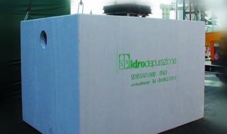 Impianti civili di trattamento acque in Italia