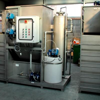 Depurazione acque industriali: impianti chimico - fisici