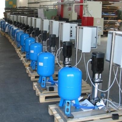 Sistemi automatici di pompaggio acque potabili