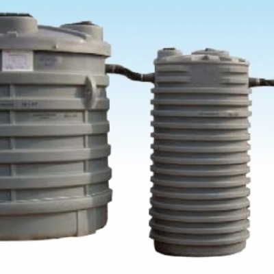 Imohoff tanks- Plant for small Communities