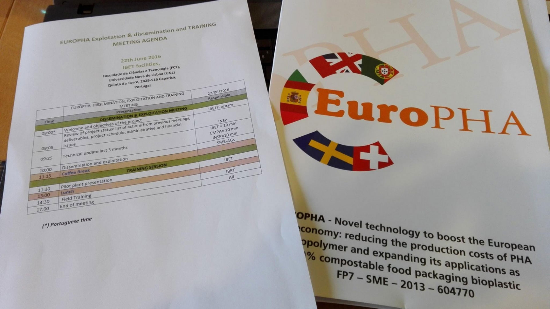 Progetto Europha