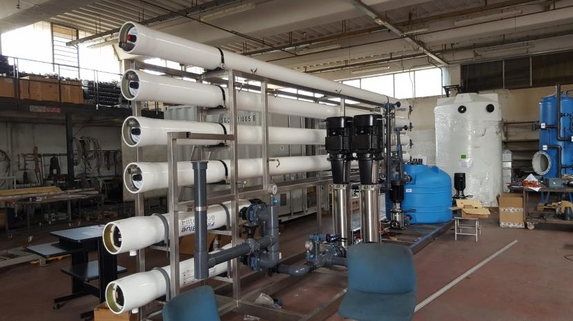 Impianto di demineralizzazione - Heinekein