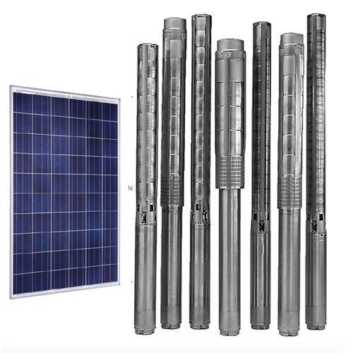 Solar Electric Submersible Deep Well Pumps