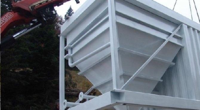 Impianti in container per trattamento acque reflue  - tecnologia Mbbr