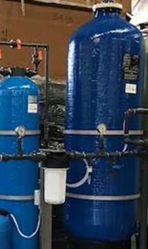 Trattamento acqua ad osmosi inversa 1mc/h